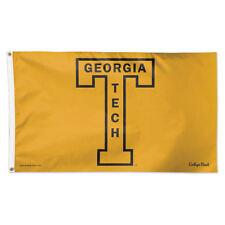 Georgia Tech Throwback Vintage Large Outdoor Flag