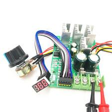 Pwm Dc Motor Speed Controller Digital Display 0 Adjustable Drive 6v 60v