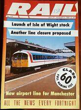 RAIL MAGAZINE NO 101 JULY 27- AUG 9 1989