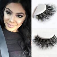 1Paar 3D Wimpern Mink Natural Thick False Eyelashes Eye Lashes Make-up-Extension
