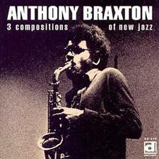 BRAXTON , ANTHONY - THREE COMPOSITIONS OF NEW JAZZ NEW VINYL RECORD