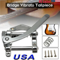 Vintage Sliver Vibrato Tremolo Bridge Fit Les Paul LP SG Tele Electric Guitar
