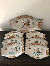 Vietri Ceramiche Falcone Servizio piatti pesce