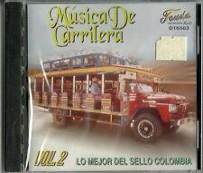 Musica De Carrilera Lo Mejor Del Sello Colombia Volume 2 Latin Music CD New