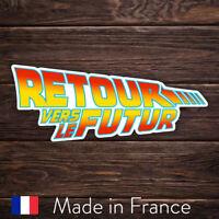 Autocollant Sticker Retour Vers Le Futur, Laptop Mur Smartphone, 9cm LSR005