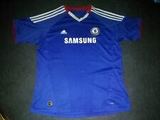 Camiseta oficial Chelsea FC Adidas 2010 - 2011 Talla L shirt size L