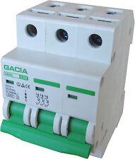 Leitungsschutzschalter GACIA SB6L 3P C32A, Sicherungsautomat MCB