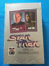 Star Trek Impel Series 1 and 2 Trading Cards Boxes - Factory sealed