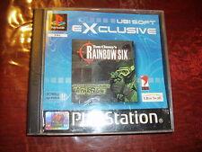 RAINBOW SIX JEU PLAYSTATION PS1 PAL version Française complet