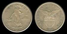 1 PESO 1907-S US-Philippine Silver Coin VF - 4