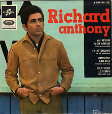 RICHARD ANTHONY AU REVOIR, MON AMOUR FRENCH ORIG EP IVOR RAYMONDE