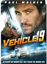 Sealed- Vehicle 19 with Paul Walker with Free Shipping