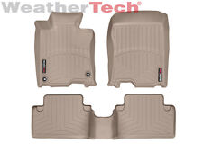 WeatherTech Floor Mats FloorLiner for Acura TSX - 2009-2014 - 1st/2nd Row- Tan