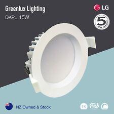 15W LED Downlight IP44 cutout 120mm Warm/white