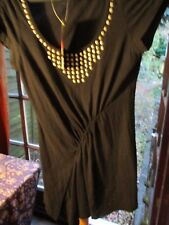 Stretch top by George size 10 ..studded detail was £8.00
