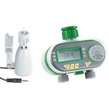 Digitaler Bewässerungscomputer BWC-200 mit 2 Anschlüssen & Regensensor