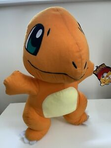 Pokemon Character Bean Plush Nintendo Charmander Tagged Large 2017