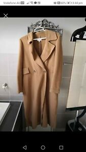 Witchery Camel Wool Blend Coat Size 8