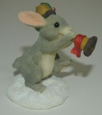 Charming Tails Holiday Trumpeter Fitz and Floyd Figurine 87/555 Dean Griff