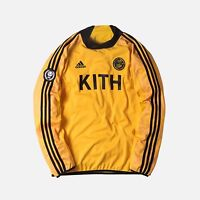 KITH X ADIDAS SOCCER GOALIE JERSEY Size: Large
