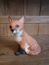Vintage Staffordshire Blythe Collectibles Fox Cub Ornament