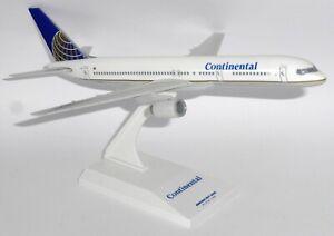 Boeing 757-200 Continental Airlines USA Skymarks Model Scale 1/200 SKR069 gj