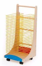 School / Nursery Standard Mobile Painting Drying Rack (PEG590)