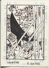 1998 MARVEL CREATORS COLLECTION MCC 98 SKETCHAGRAPH WOLVERINE - ROB HUNTER