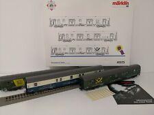 MARKLIN HO 41573 DB Bahnpostexpress-Set Insider