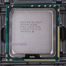 Intel Xeon X5660 SLBV6 Six Core CPU Processor 6.4 GT/s 2.8 GHz LGA 1366