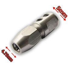 """FLEX pince coupleur pour 5 mm Arbre moteur et 4.76 mm (3/16"""") Câble Flex RC Bateau E"""
