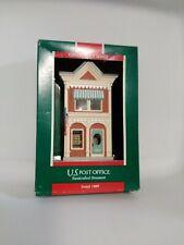 "Hallmark Handcrafted Keepsake Ornament ""U.S. Post Office"" 1989 Collector's #6"