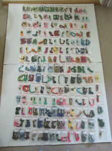 HUGE LOT OF DMC EMBROIDERY FLOSS 282 SORTED NUMBERED PACKS WITH MULTIPLE SKEINS