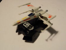 MICRO SCALEXTRIC STAR WARS WHITE CAR WITH LIGHT  NEW