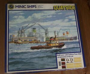 "TRIANG MINIC SHIPS 1:1250 . "" QUAYSIDE """