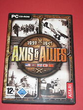 Axis & Allies / 1939-1945 WWII - 2 CD's -  PC-Spiel