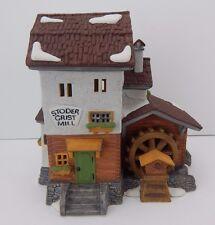 Dept 56 Alpine Village Stoder Grist Mill #59536 D56 Av Never Displayed
