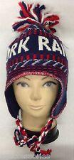 NHL New York Rangers Winter Classic 2012 Knit Tassel Aviator Hat Cap NEW!