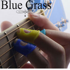 4Pcs Gitarre Silikon Fingerschützer Fingerschutz für Thumb Bass / Ukulele IMAX