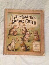 Lady Tabitha's Morning Concert - Dean & Son c1880, Untearable Chromolithograph