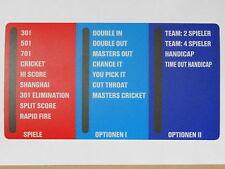 Game Option Panel #908471 für HB8  von NSM / Löwen Dart