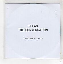 (FV241) Texas, The Conversation 4 track sampler - 2013 DJ CD