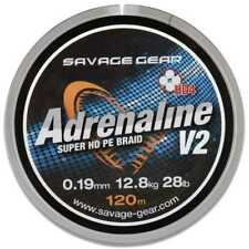 Savage Gear Hd4 Adrenaline V2 120m 0.16mm 22lbs Grey