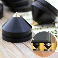 4tlg. 23*20mm Lautsprecher Isolation Spike & Pad Absorber Boxenfüße Holz Kupfer