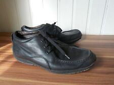 Chaussures de ville à lacets derby cuir noir souple GEOX 44 11US 10UK