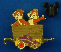 Chip & Dale Character Train Mystery Disney Pin # 53033