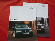 VW Bora Limousine Basis Trendline Comfortline Highline Prospekt von 2003