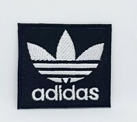 Adidas Original logo sports badge Black Iron Sew on Embroidered Patch