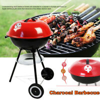 Charcoal Barbecue BBQ Grill Outdoor Camping Cooker Bars Backyard Smoker Tool CN