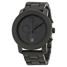 Movado Bold Chronograph Black Bracelet Mens Watch 3600048